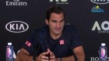 "Open d'Australie 2020 - Roger Federer : ""I don't know if I played better"""