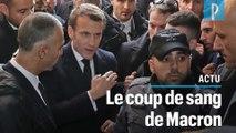 Le coup de colère d'Emmanuel Macron contre les services de sécurité israéliens
