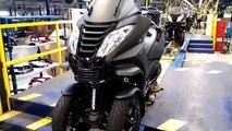 Le 20 000e Metropolis sort des lignes de l'usine Peugeot motocycles à Mandeure