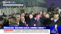 Emmanuel Macron s'est rendu à l'Esplanade des Mosquées