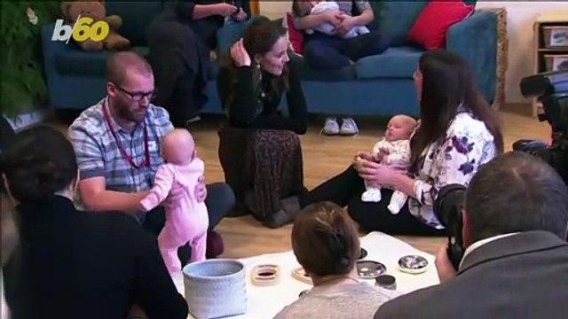Kate Middleton Visits UK Sensory Class As Part Her Childhood Development Survey!