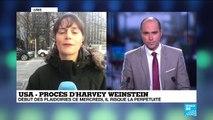 Procès d'Harvey Weinstein : Début des plaidoiries ce mercredi au tribunal de Manhattan