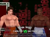 WWE 2006 No Mercy Mod Matches Carlito vs Shelton Benjamin