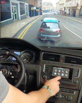 Simulador de conducción para el juego Forza Horizon 4