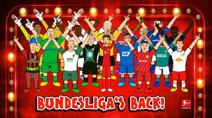 Bundesliga's Back Boy Band, powered by 442oons