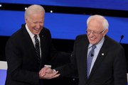 Sanders Surges to the Top With Biden in Democratic Presidential Bid
