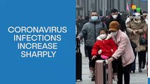 Coronavirus Infections Increase Sharply