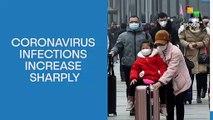 Coronavirus Infections Increase Sharply
