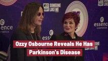 Ozzy Osbourne Reveals Health Condition