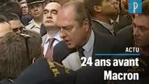 Emmanuel Macron à Jérusalem : une altercation façon Jacques Chirac