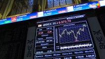 El Ibex 35 pierde los 9.600 puntos tras ceder un 0,39 %
