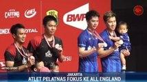 PBSI Fokus ke All England dan Olimpiade Tokyo