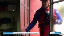Tempête Gloria : crues importantes dans les Pyrénées-Orientales