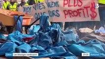 Grève : les blocages se multiplient contre la réforme des retraites