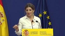 Díaz señala que derogación reforma laboral se hará en 2 fases