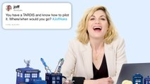 Jodie Whittaker Answers Doctor Who Questions From Twitter