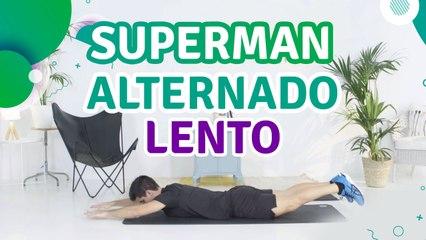 Superman alternado lento - Sou Fitness