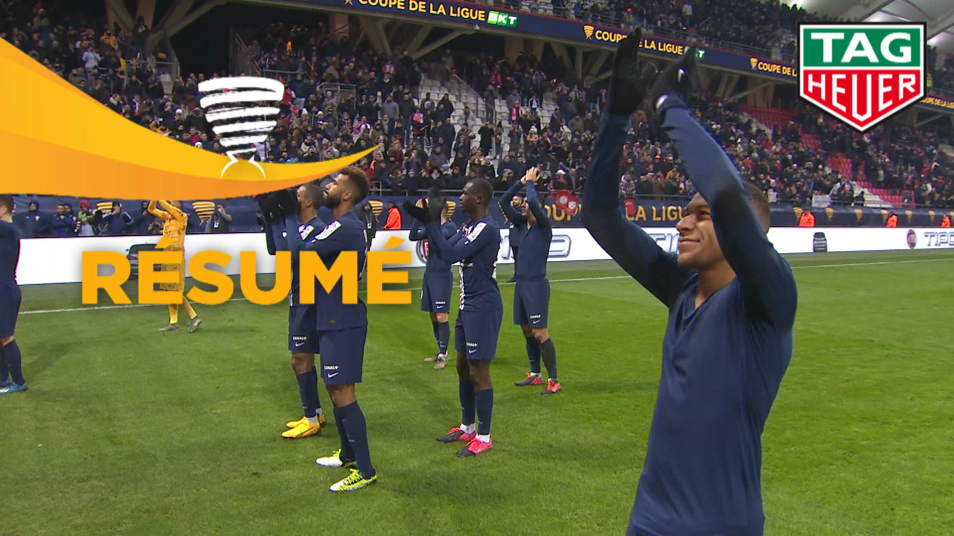 Stade de Reims - Paris Saint-Germain (0-3)  - (1/2 finale) - Résumé - (REIMS-PARIS) / 2019-20