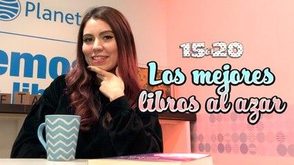 LOS MEJORES LIBROS AL AZAR CON CLAU READS BOOKS | 15A20