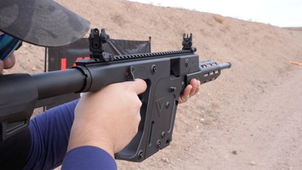 First Look: The KRISS Vector 22LR