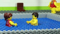 LEGO Super Hero Swimming Pool - Minifigure Studios