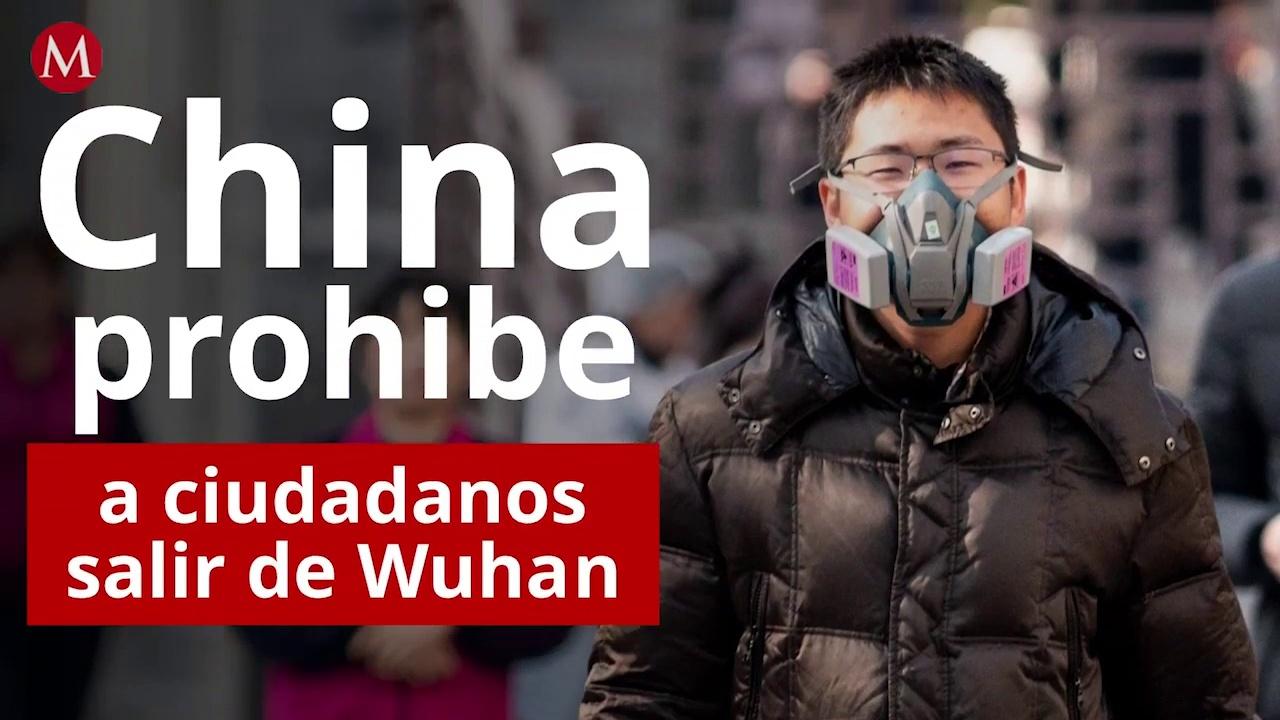 Por coronavirus, China prohíbe a ciudadanos salir de Wuhan