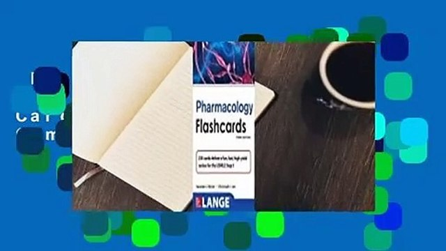 Full E-book  Lange Pharmacology Flash Cards, Third Edition Complete