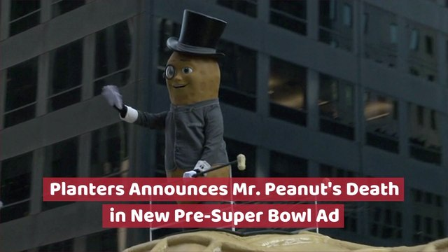 No More Mr. Peanut