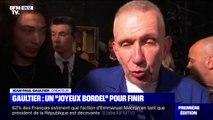 Jean-Paul Gaultier présentait mercredi son dernier défilé de haute-couture