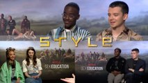 Interview with the cast of Netflix's Sex Education