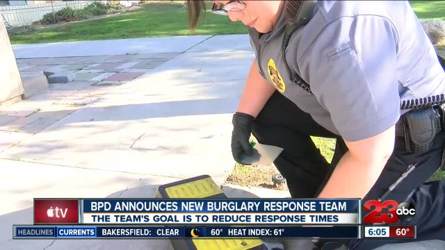 BPD announces new  Burglary Response Team