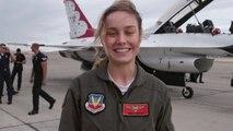 Captain Marvel - Reportage : L'entraînement de Brie Larson