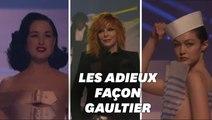 Le dernier défilé de Jean-Paul Gaultier, avec une avalanche de stars