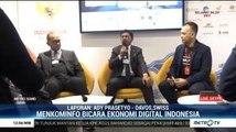 Menkominfo Promosikan Ekonomi Digital Indonesia di Ajang WEF 2020