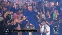 Découvrez les images du dernier défilé de Jean-Paul Gaultier qui s'est déroulé hier au Théâtre du Châtelet à Paris - VIDEO