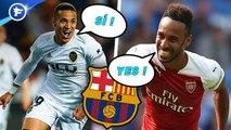 Pierre-Emerick Aubameyang et Rodrigo Moreno disent oui au Barça, Manchester City pourrait être exclu de la Ligue des champions