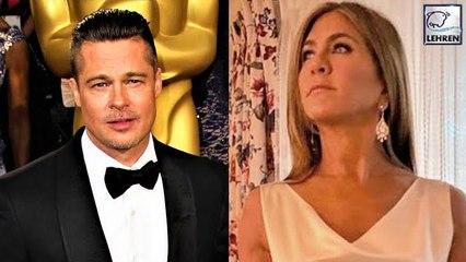 REVEALED: How The Brad Pitt & Jennifer Aniston's Reunion Exactly Happened