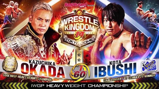Okada VS Ibushi IWGP Heavyweight Championship Match Preview VTR '20.1.4