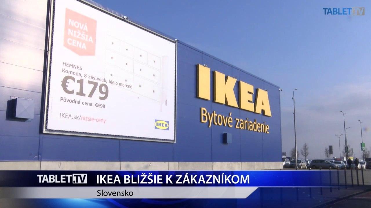 IKEA bude ešte bližšie k zákazníkom, v regiónoch plánuje otvoriť tri ďalšie výdajné miesta