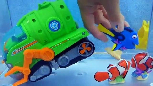 Underwater Adventure Rescue- Paw Patrol Sea Patrol Toys Save Dory Funny Toy Stories for Kids Video-