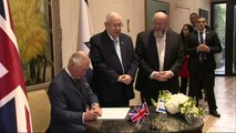 Prince Charles plants tree with President Reuven Rivlin
