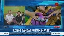 Robot Tangan Buatan Siswa SMK di Tasikmalaya Murah Berkualitas