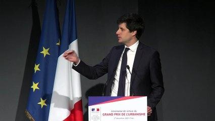 Grand Prix de l'urbanisme 2019 (12/14) : Discours Julien Denormandie, ministre de la Ville et du Logement