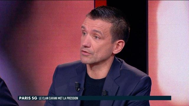 La mise au point d'Eric Carrière sur le dossier Cavani