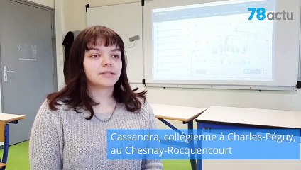Audioguide des collégiens du Chesnay-Rocquencourt (Yvelines)