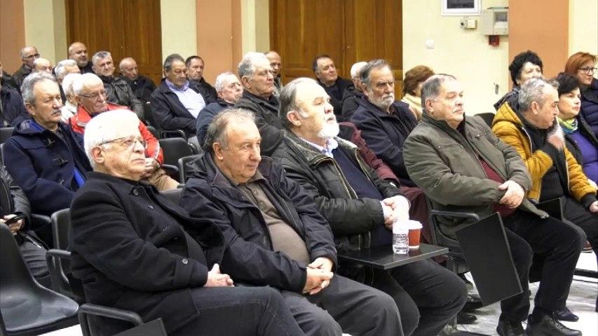 Ομιλία του Λουκά  Αποστολίδη στη Λαμία για το νέο Ασφαλιστικό Νομοσχέδιο