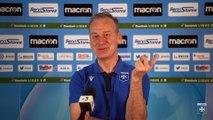 Conférence de presse de Jean-Marc Furlan avant AJA-FC Sochaux