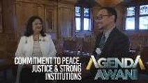 Agenda AWANI: Commitment to peace, justice & strong institutions