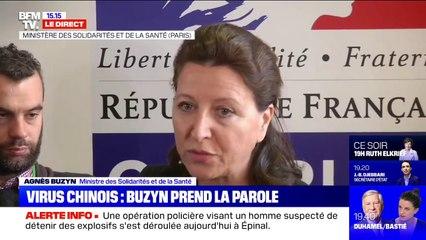 """Agnès Buzyn sur le coronavirus: """"Nous sommes d'ores et déjà en mesure d'avoir un diagnostic très rapide"""""""