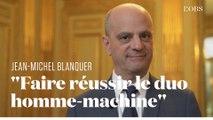 Jean-Michel Blanquer donne sa vision de l'école du futur